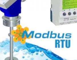 Transmission via RS485 - Modbus RTU